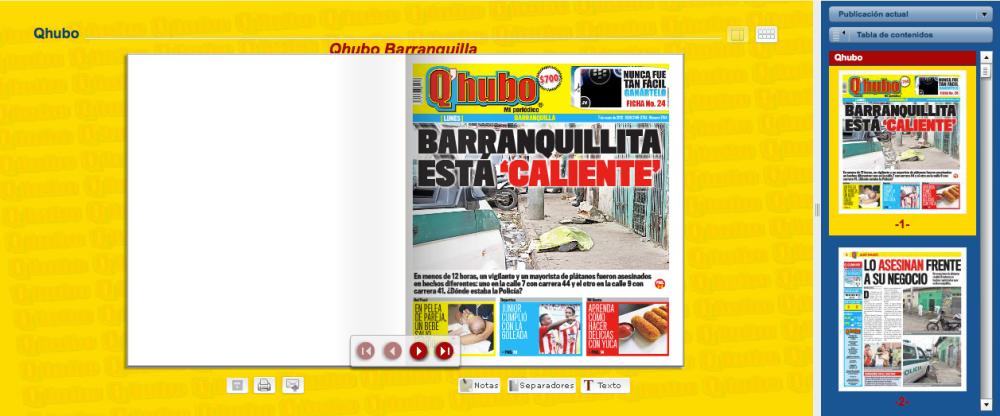 Q'hubo.com y el Estudio General de Medios (3/5)