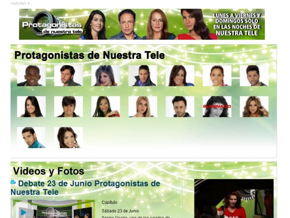 Protagonistas de Novela, o el festival de la 'arrecostada' en TV