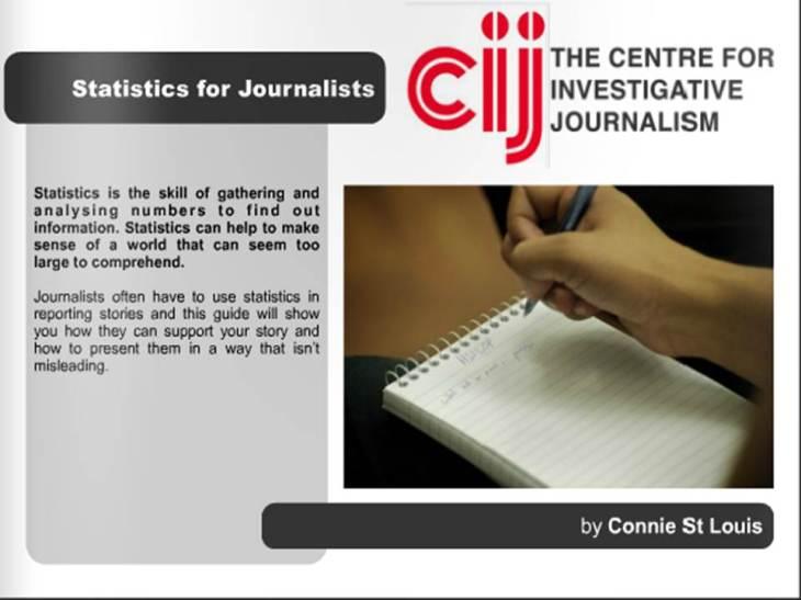 estadísticas para periodistas